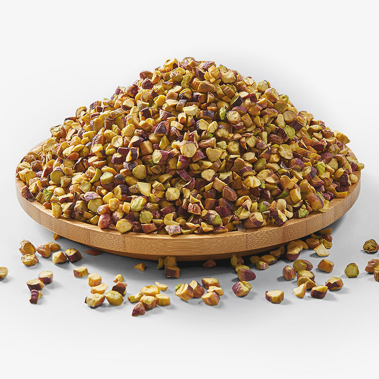 CHOPPED RED PISTACHIO (3-5 MM AND 7-9 MM)